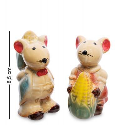 "Комплект фигурок 2 шт. ""Мышки"", 8,5 см"