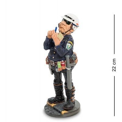 """Статуэтка """"Полицейский"""" 8x10x22 см., полистоун Parastone, Нидерланды"""