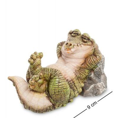 """Фигура """"Крокодил"""" 9 см., полистоун Sealmark, США"""