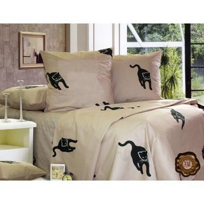 Комплект постельного белья Полуторный, Бязь-100% хлопок (1.5-сп.ЕТ0191)