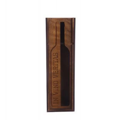 "Коробка для вина ""In vino veritas"" (97x108x350)"
