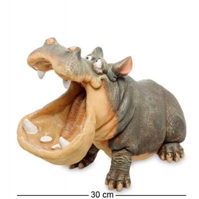 """Статуэтка-кашпо """"Бегемот"""", 31x17,5x23 см., полистоун Sealmark, США"""