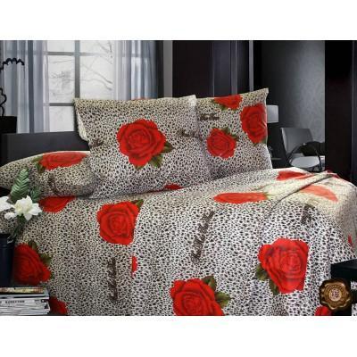 Комплект постельного белья Евро, Бязь-100% хлопок (ЕТ0202)