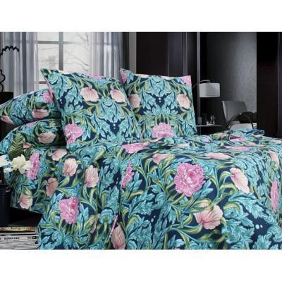 Комплект постельного белья Двуспальный, Бязь-100% хлопок (2-х сп.ЕТ0646)