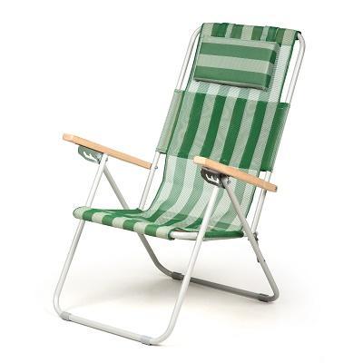 """Кресло-шезлонг Time Eco """"Ясень"""" зеленый"""