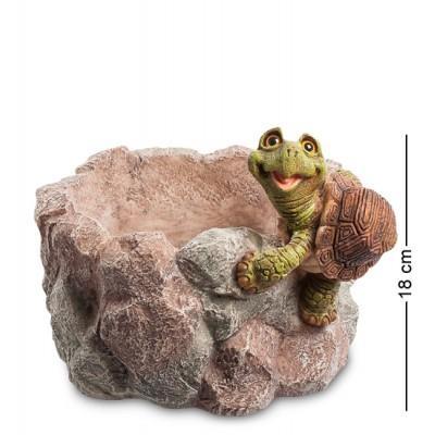 """Фигурка Кашпо """"Черепаха"""" 24x21x18 см., полистоун Sealmark, США"""