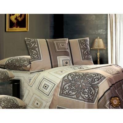 Комплект постельного белья Евро, Бязь-100% хлопок (ЕТ0234)