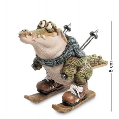 """Фигурка """"Крокодил"""" 10x4,5x8 см., полистоун Sealmark, США"""