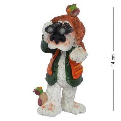 "Статуэтка Собака ""На охоте"" 14 см., полистоун Warren Stratford, Канада"
