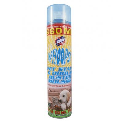 Спрей - пена для чистки диванов и ковров после животных Xanto Pet Stain Whoops 660 мл.