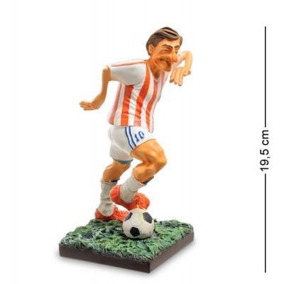 "Статуэтка ""Футболист"" 10x10x19,5 см., полистоун Forchino, Франция"