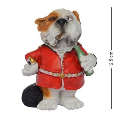 """Статуэтка Собака """"Конец рабочей недели"""" 12.5 см., полистоун Warren Stratford, Канада"""