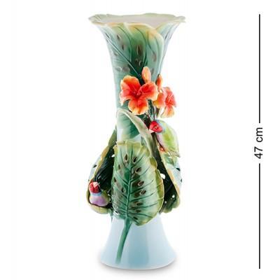"""Статуэтка-ваза """"Попугай"""" 47 см., фарфор Pavone, Италия"""