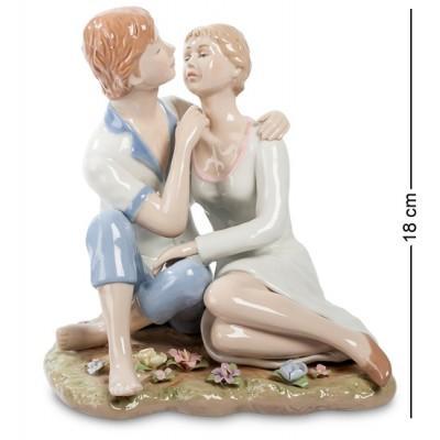 """Статуэтка """"Влюбленные"""" 17x15x18 см., Pavone, Италия"""