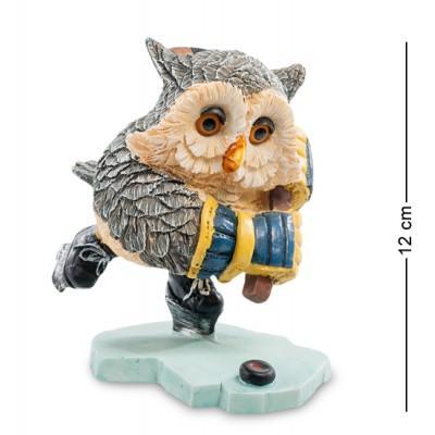 """Фигурка """"Совенок-хоккеист"""" 8x10,5x12 см., полистоун Sealmark, США"""