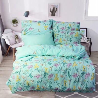 Комплект постельного белья Евро, Бязь-100% хлопок (ЕТ0727)