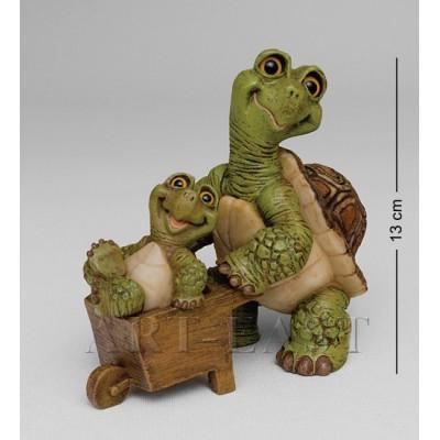 "Фигура ""Веселая семейка"" 12.5х7.5х12.5 см., полистоун Sealmark, США"