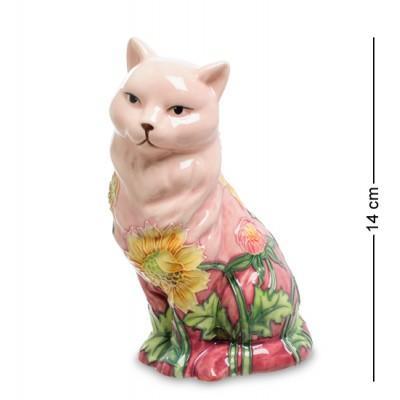 """Фигурка """"Кошка"""" 7,5x9,5x14 см., фарфор Pavone, Италия"""