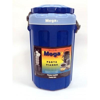 Изотермический контейнер Mega 4,8 л синий