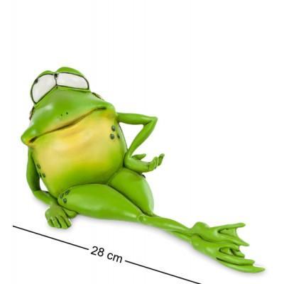 """Фигурка-лягушка """"Мисс Фрогалина"""" 28x12x14 см., полистоун Warren Stratford Канада"""