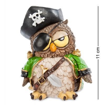 """Фигурка Сова """"Пират"""" 9x6,5x11 см., полистоун Warren Stratford Канада"""