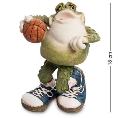 "Фигурка ""Баскетболист Фрогги"" 14,5x11x18 см., полистоун Sealmark, США"