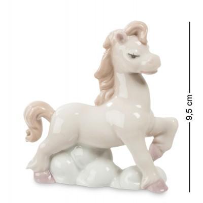 """Фигурка """"Лошадь Грация"""" 9x4x9,5 см., фарфор Pavone, Италия"""