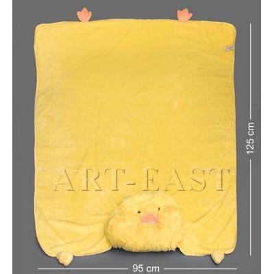 """Одеяло-зверюшка """"Утенок Кряка"""" 95х125х14 см., Color Rich"""