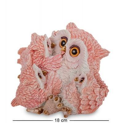 "Фигурка Совы ""Счастливая мама"" 18x18,5x12 см., полистоун Sealmark, США"