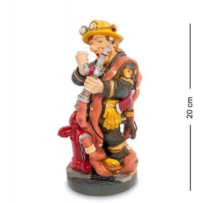 """Статуэтка """"Пожарный"""" 12x11x21 см., полистоун Parastone, Нидерланды"""