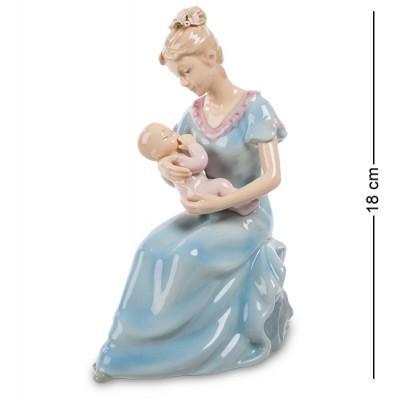 "Музыкальная статуэтка ""Мама с ребенком"" 13x8,5x18 см., Pavone, Италия"