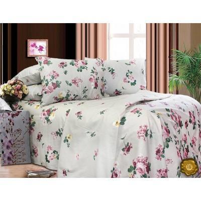 Комплект постельного белья Двуспальный, Бязь-100% хлопок (2-х сп.ЕТ0543)