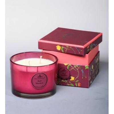 """Ароматическая свеча """"Базилик и мандарин"""" Serenity Candles, Австралия"""
