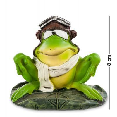 """Фигурка-лягушка """"Летчик Яша"""" 10x9x8 см., полистоун Warren Stratford Канада"""