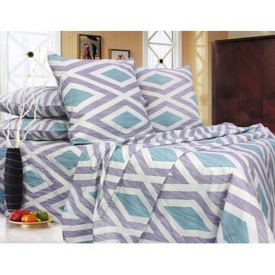 Комплект постельного белья Полуторный, Бязь-100% хлопок (1.5-сп.ЕТ0673)