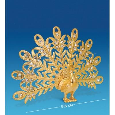 "Фигурка ""Павлин"" 9,5x3,5x7 см., Crystal Temptations, США"