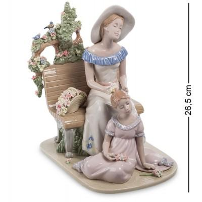 "Фигурка ""Мать с дочерью"" 18,5x26x26,5 см., Pavone, Италия"