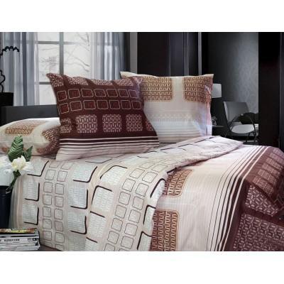 Комплект постельного белья Двуспальный, Бязь-100% хлопок (2-х сп.ЕТ0710)