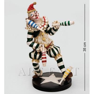 """Статуэтка """"Клоун"""" 35 см., полистоун Great Art"""