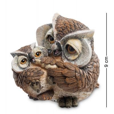 """Фигурка """"Сова с малышом"""" 8x10,5x9 см., полистоун Sealmark, США"""