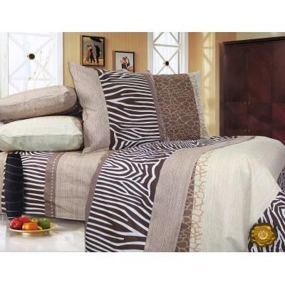 Комплект постельного белья Евро, Бязь-100% хлопок (ЕТ0293)