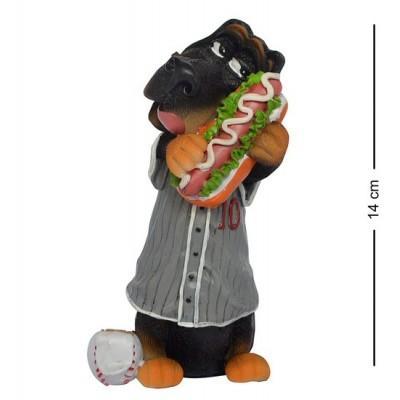 """Статуэтка Собака """"Долгожданная встреча"""" 14 см., полистоун Warren Stratford, Канада"""