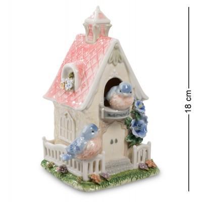 """Музыкальная композиция """"Птичий домик"""", 11x11x18 см., Pavone, Италия"""