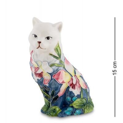 """Фигурка """"Кошка"""" 7,5x9,5x15 см., фарфор Pavone, Италия"""