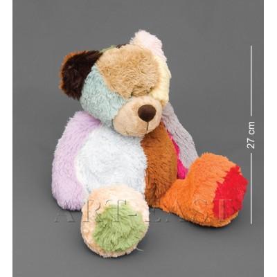 """Мягкая игрушка медведь """"Пушистая Радуга"""" 46см Color Rich"""