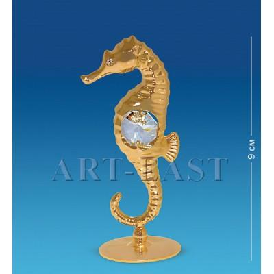 "Фигурка ""Морской конек"" 4x3,5x9 см., Crystal Temptations, США"