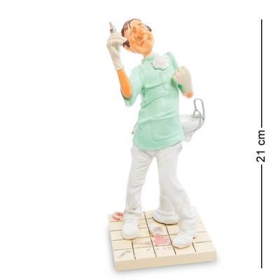 "Статуэтка ""Стоматолог"" 10x9x21 см., полистоун Forchino, Франция"