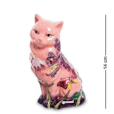 """Фигурка """"Кошка"""" 9x7,5x14 см., фарфор Pavone, Италия"""