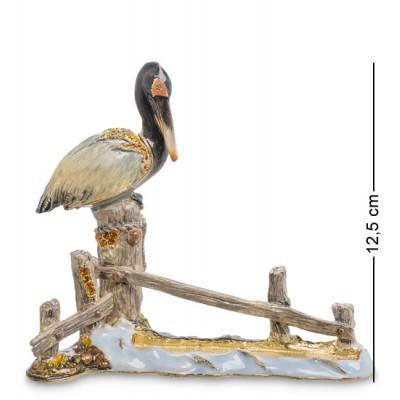 """Фигурка-шкатулка """"Пеликан-визитница"""" 14x6x12,5 см., Nobility, Гонконг"""
