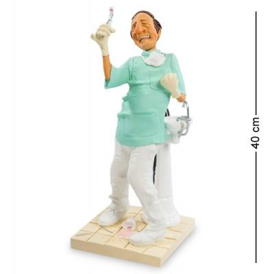 "Статуэтка ""Стоматолог"" 17x18x40 см., полистоун Forchino, Франция"